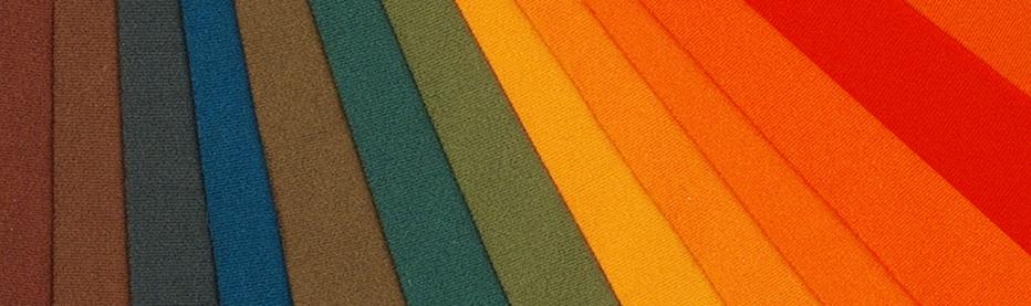 Textil-Farbmuster